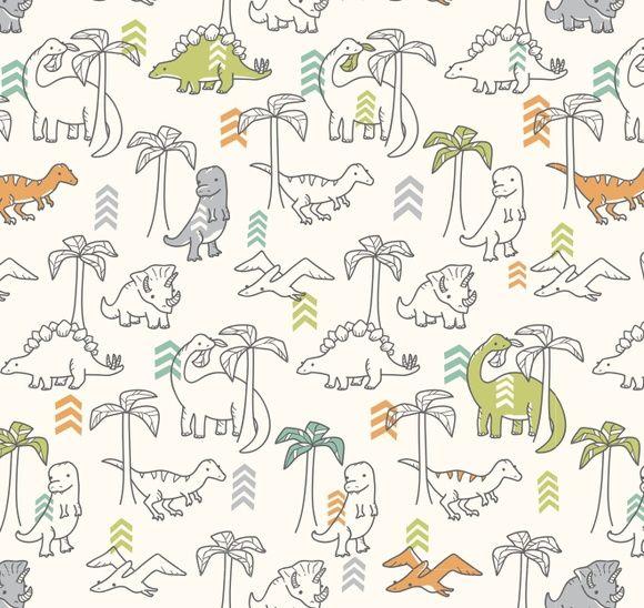 Papel de Parede Dinossauros 45A8F3