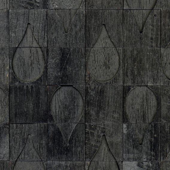 Papel de Parede Efeito Blocos de Madeira 1248190
