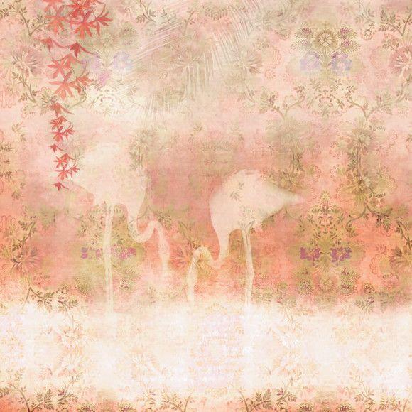 Papel de Parede Flamingos 128FE3C