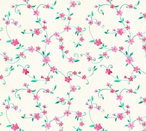 Papel de Parede Flores Florais 42D465