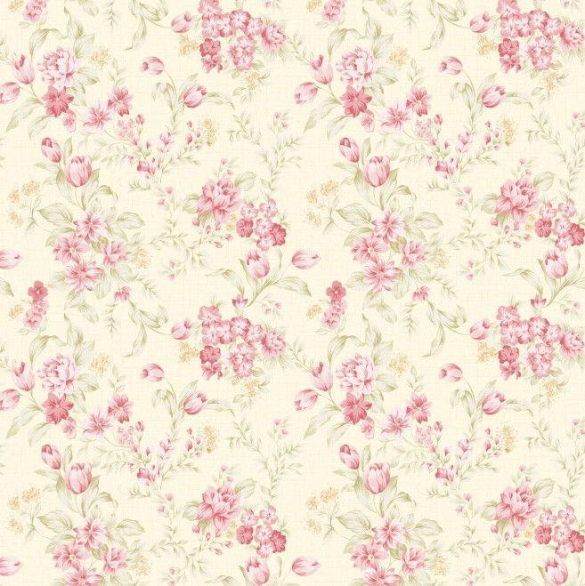 Papel de Parede Flores Florais 42752C