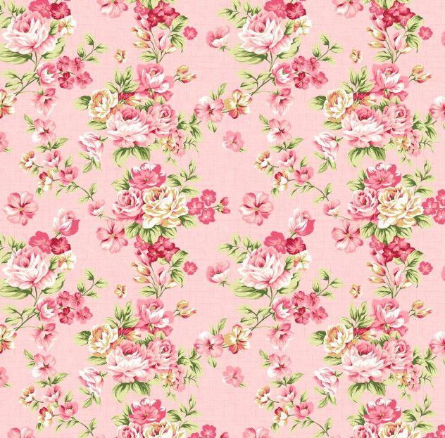 Papel de Parede Flores Florais Rosa 42270D