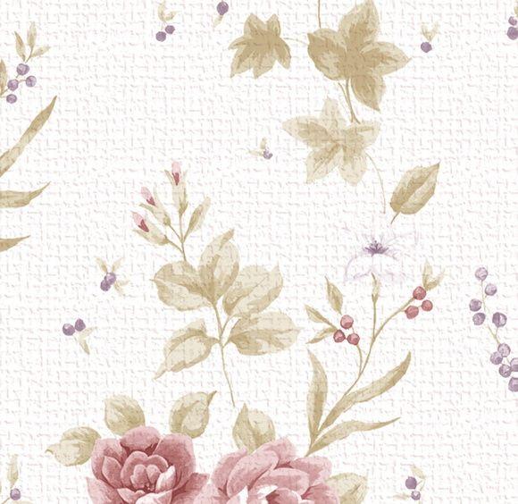 Papel de Parede Flores Florais 41FACB
