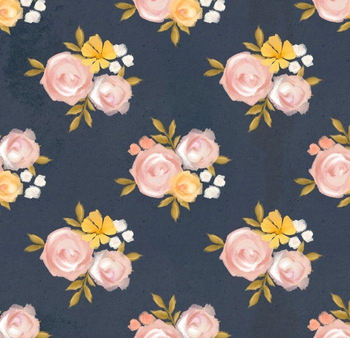 Papel de Parede Flores Florais 698146
