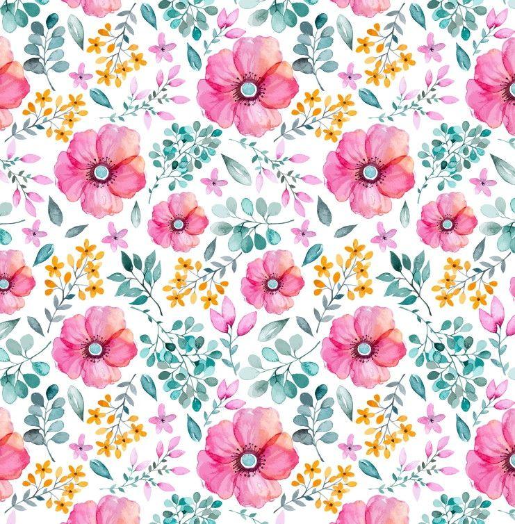 Papel de Parede Flores Florais 68590A