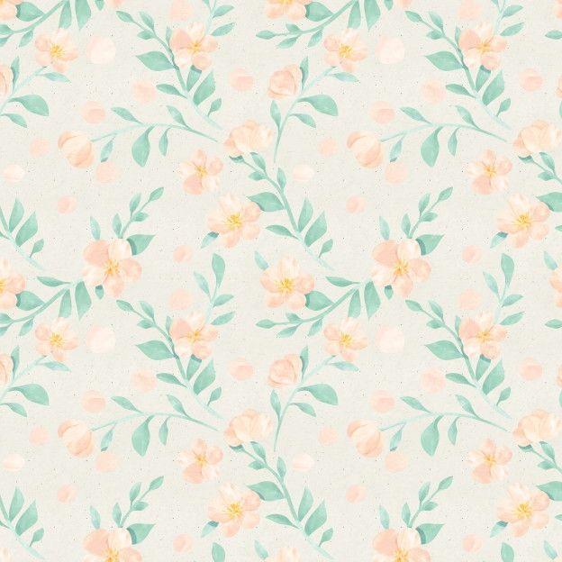 Papel de Parede Flores Floral 66F4F2