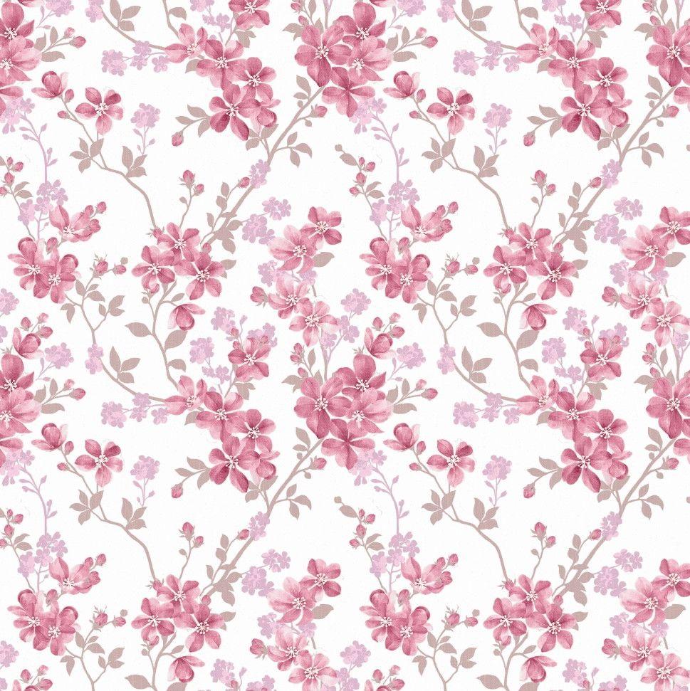 Papel de Parede Flores Floral 5AFA42