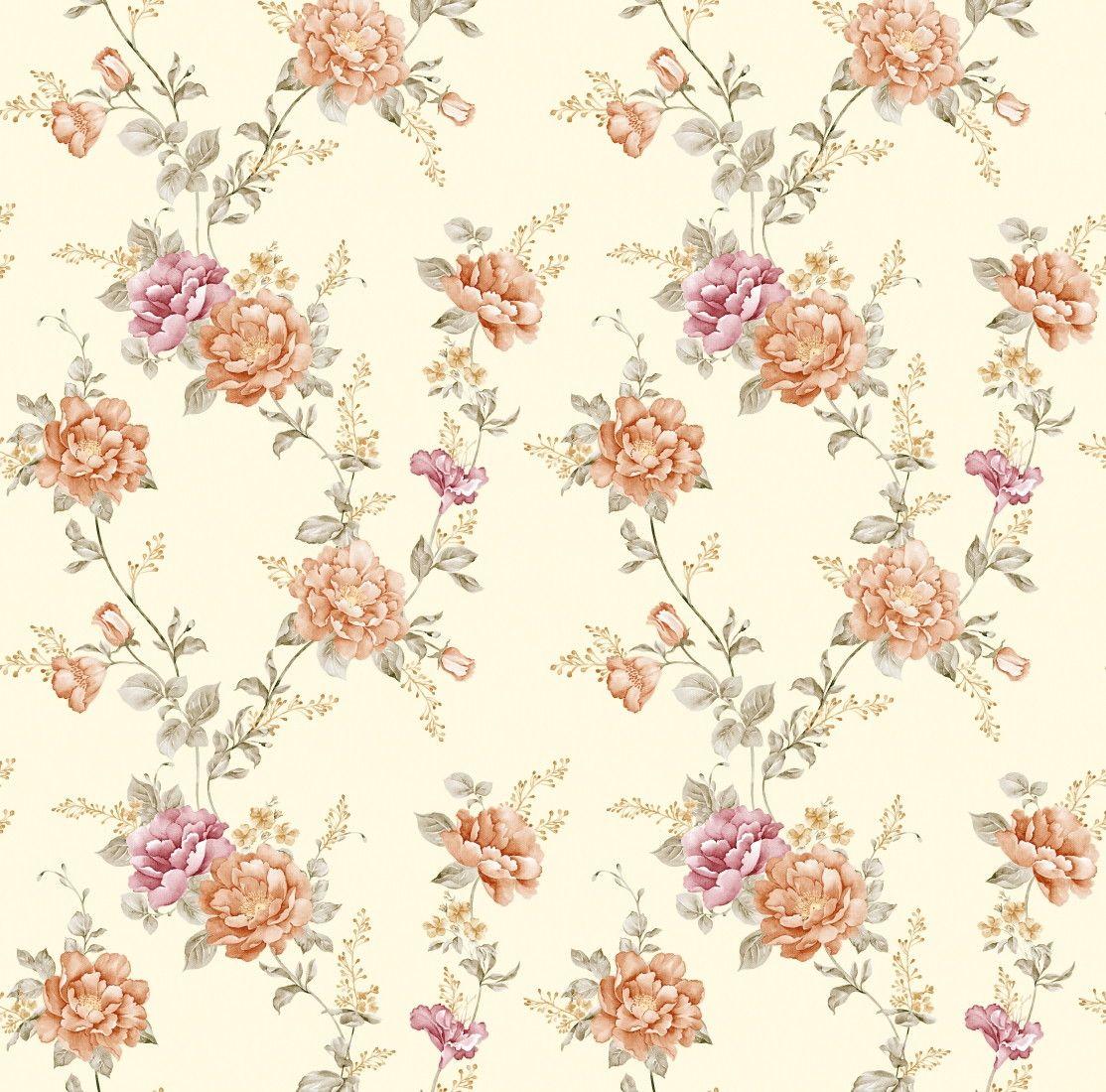 Papel de Parede Flores Floral 5ACB83