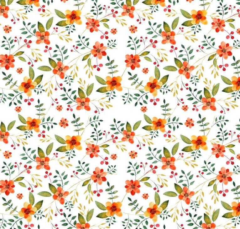 Papel de Parede Flores Florais 514598