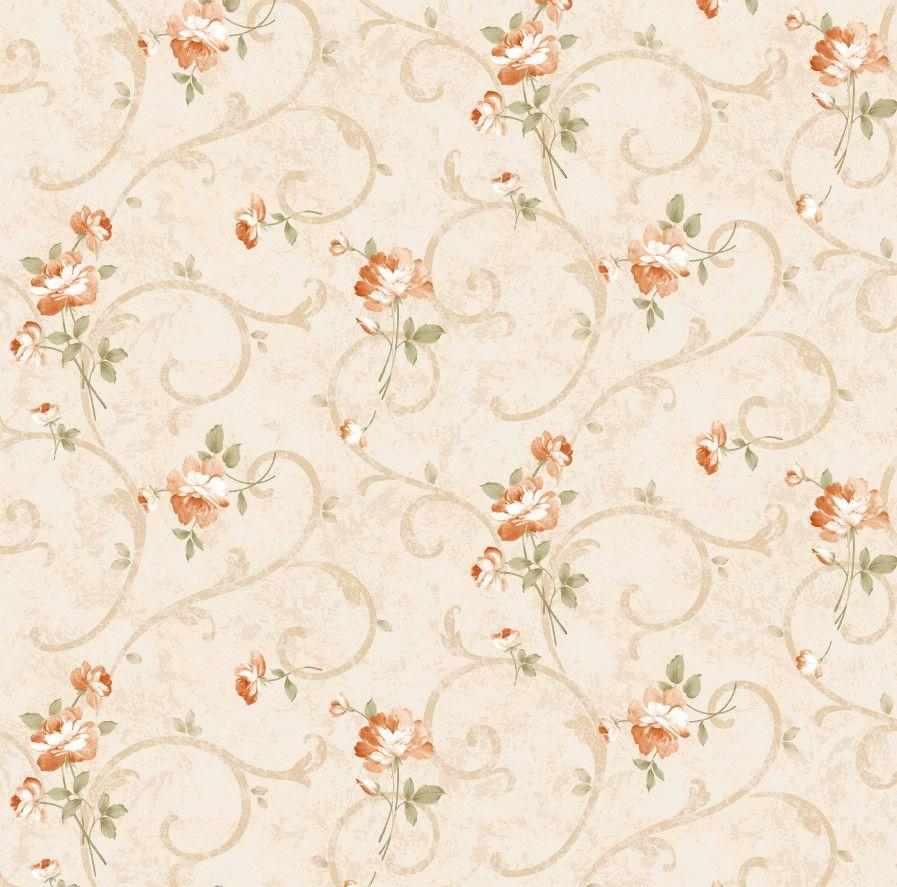 Papel de Parede Flores Florais 4DF848