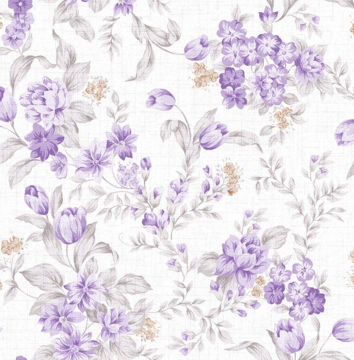 Papel de Parede Flores Floral 461EA6