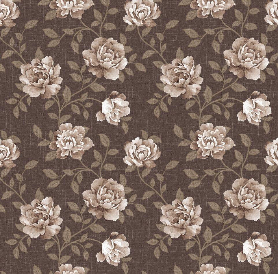 Papel de Parede Flores Floral 455EC7
