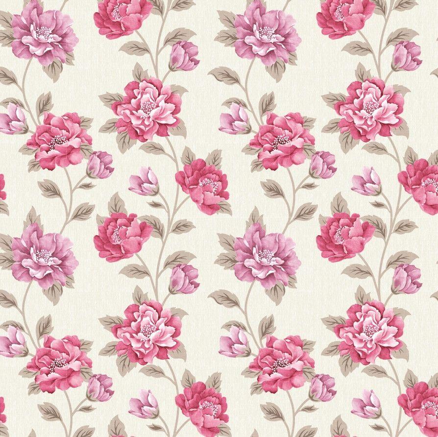 Papel de Parede Flores Floral 455EB1