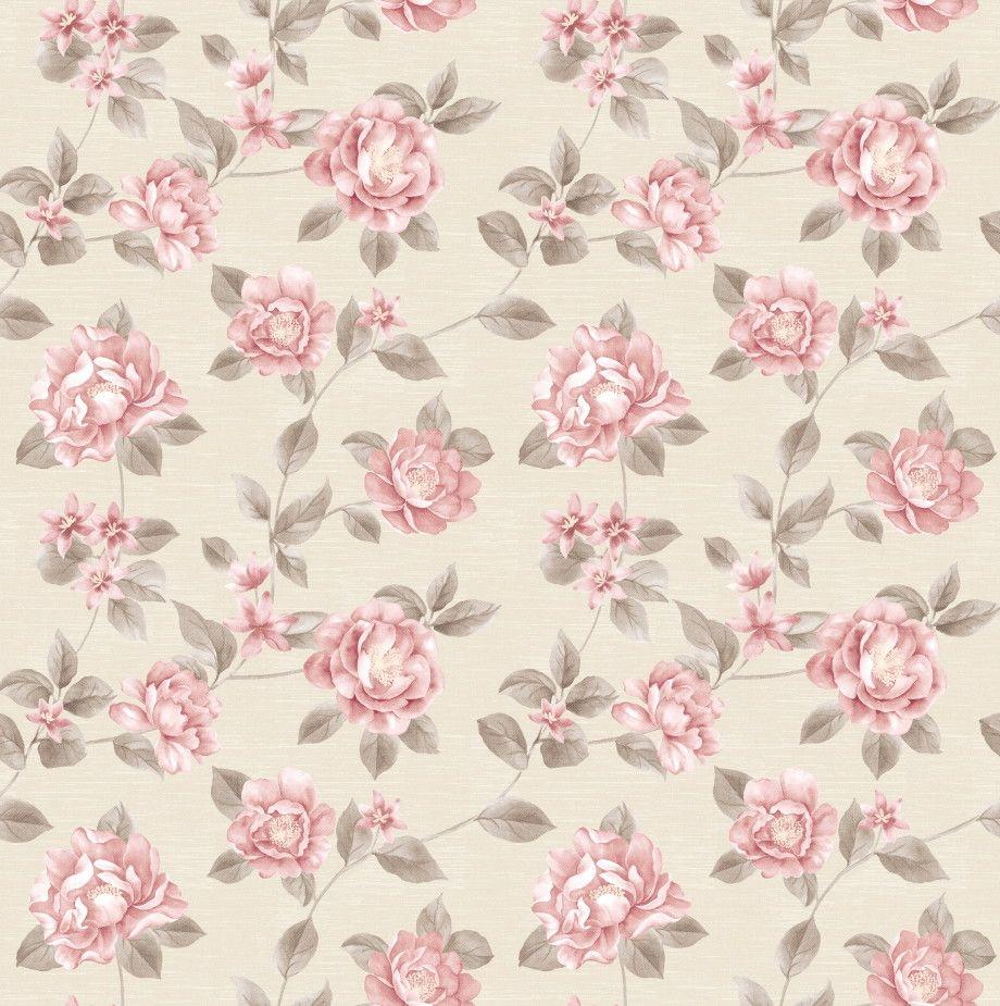 Papel de Parede Flores Floral 455E94