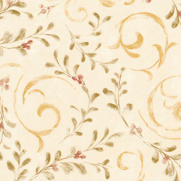 Papel de Parede Florais Arabesco FC6AC6