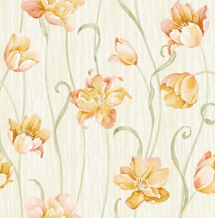 Papel de Parede Flores Floral 8EE565