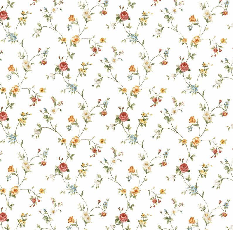 Papel de Parede Flores Floral 853296