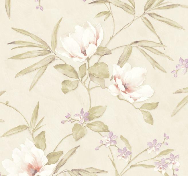 Papel de Parede Flores Floral B9B597