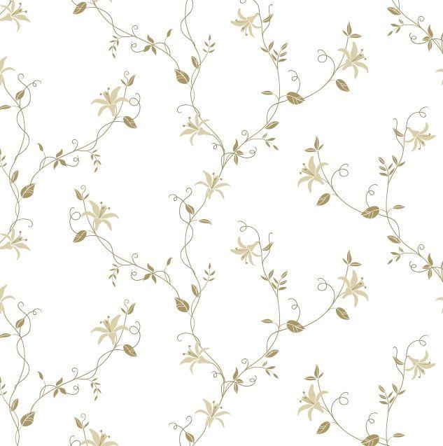 Papel de Parede Flores Florais 6857F8
