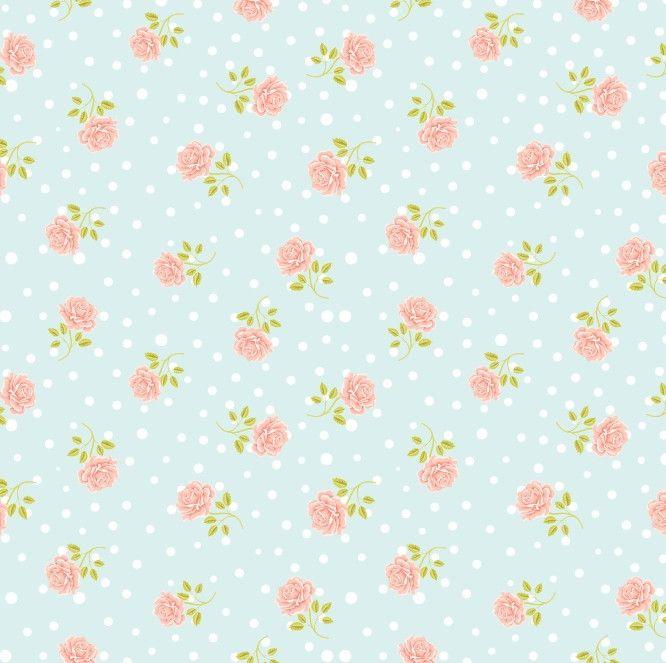 Papel de Parede Flores Floral Poás 64AC11