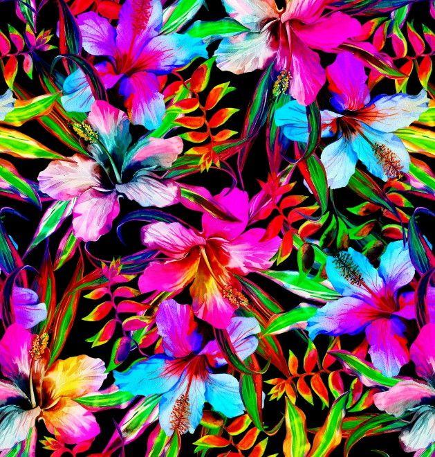Papel de Parede Flores Florais 58A0BE