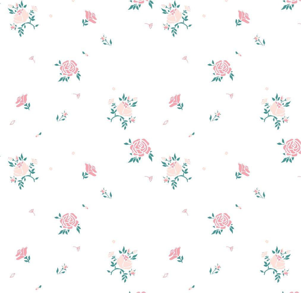 Papel de Parede Flores Florais Rosas 574C85