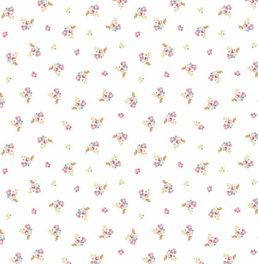 Papel de Parede Flores Florais 5180B7