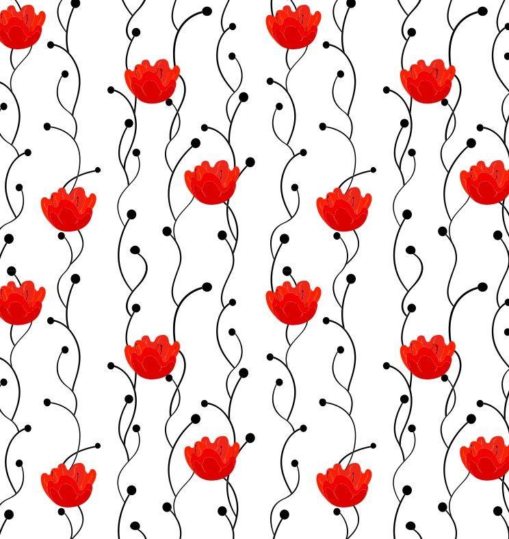 Papel de Parede Flores Florais 514B23