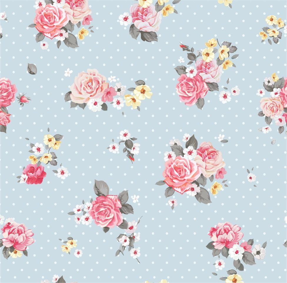 Papel de Parede Flores Floral Poás 48FD13
