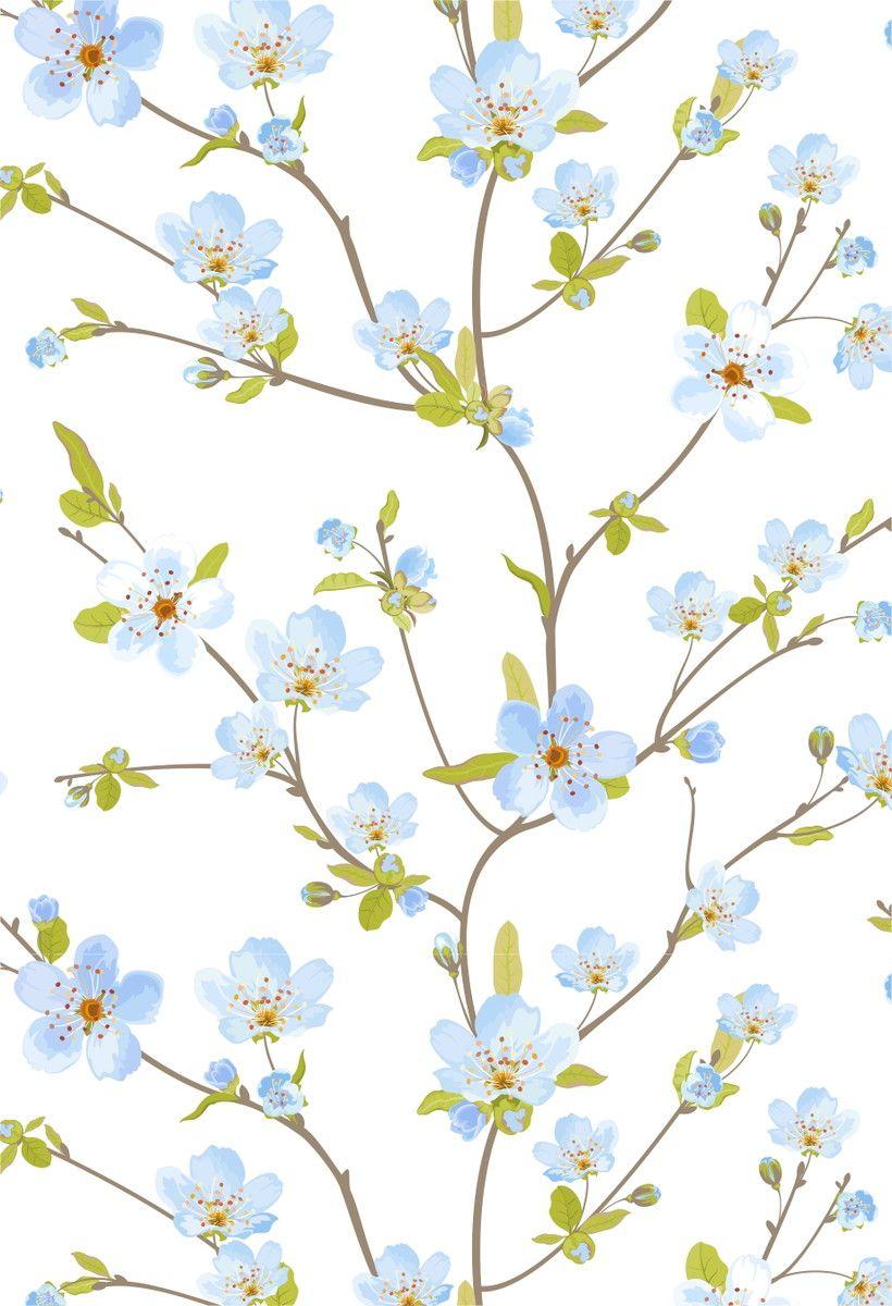Papel de Parede Flores Florais 4469C8