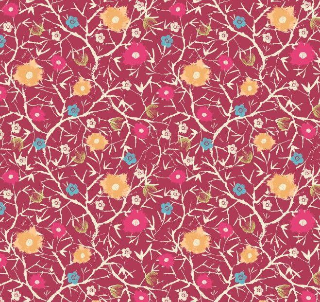 Papel de Parede Flores Florais 41B705