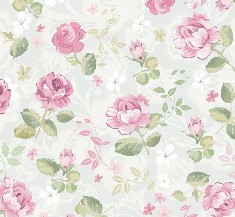 Papel de Parede Flores Florais 3E13A2