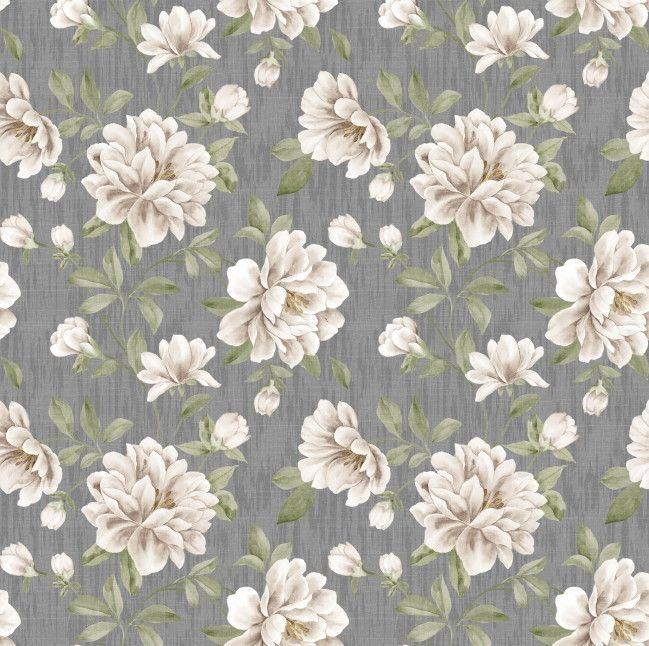 Papel de Parede Flores Floral AD86C