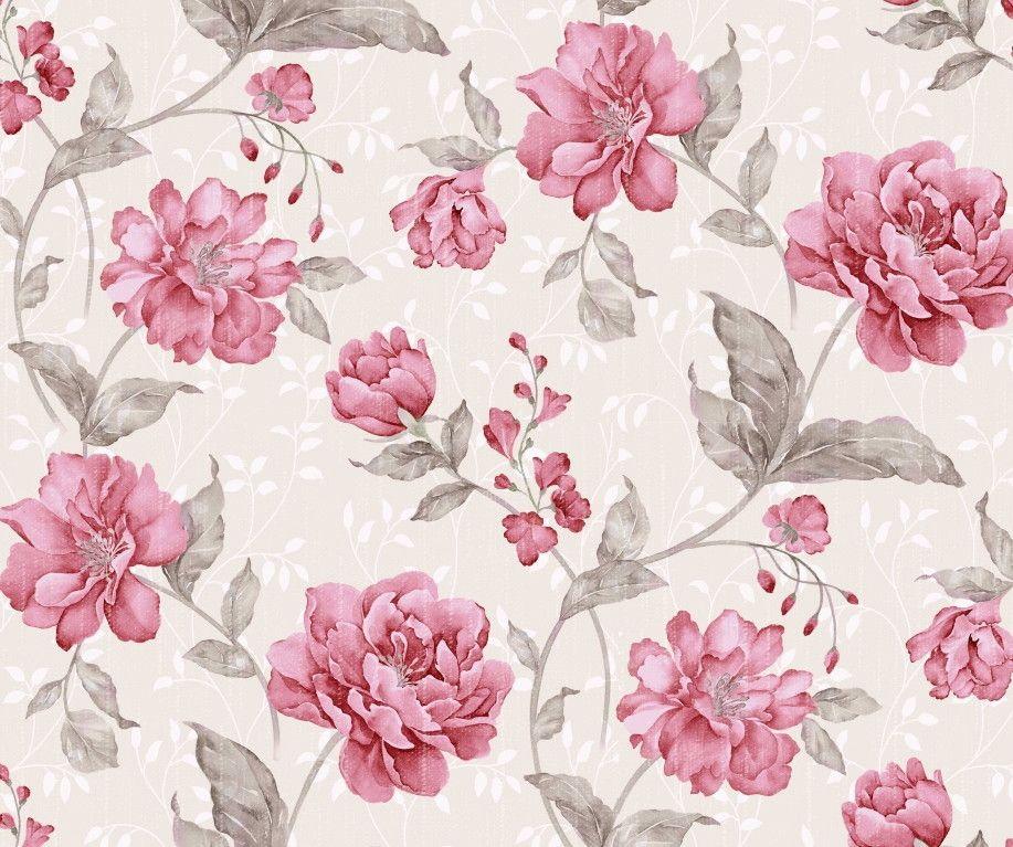 Papel de Parede Flores Floral 8513D0