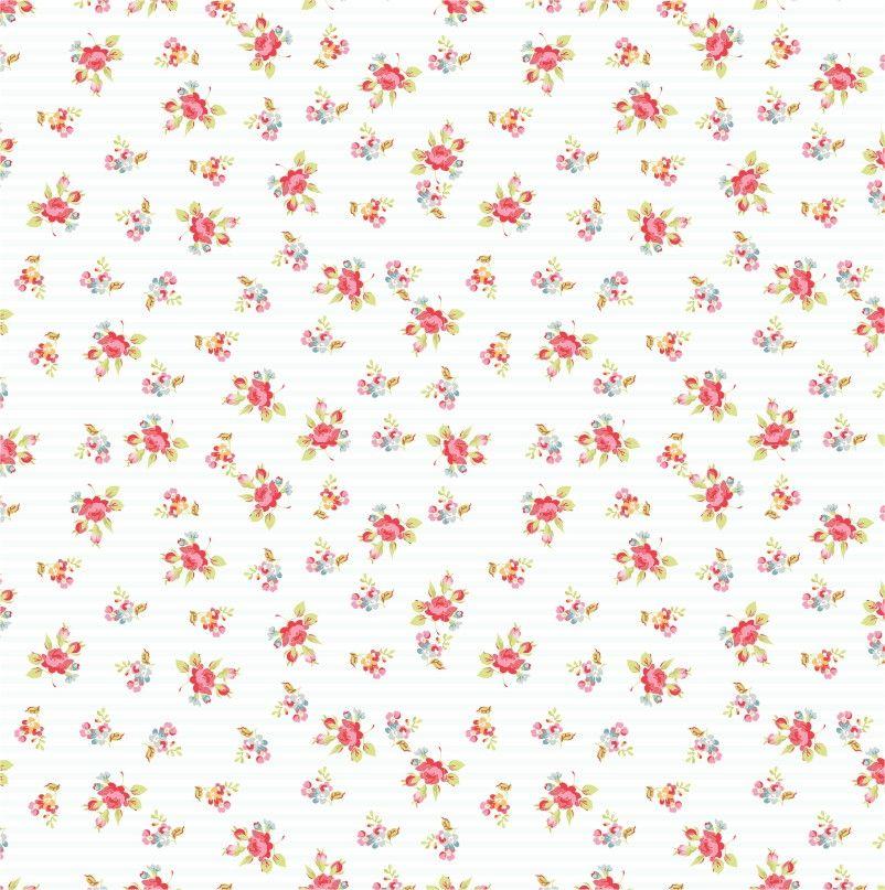 Papel de Parede Flores Floral 851379