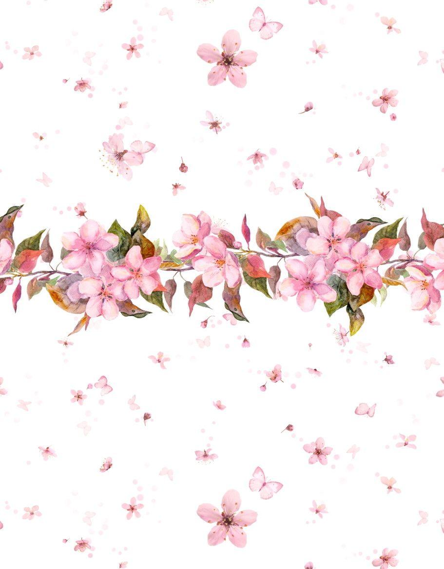 Papel de Parede Flores Floral 5ACB57
