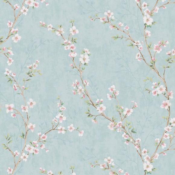Papel de Parede Galhinhos e Flores 12B615E