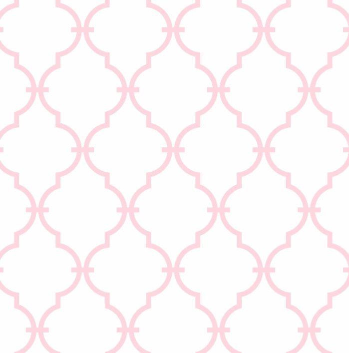 Papel de Parede Geométrico Rosa ABA34B