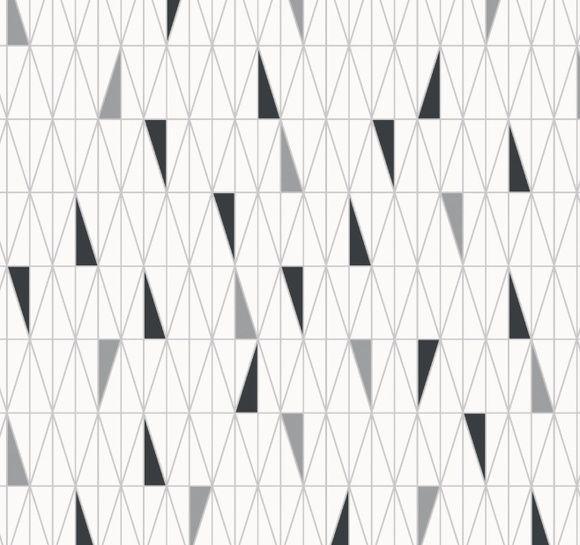 Papel de Parede Geométrico Triângulos B90BA5