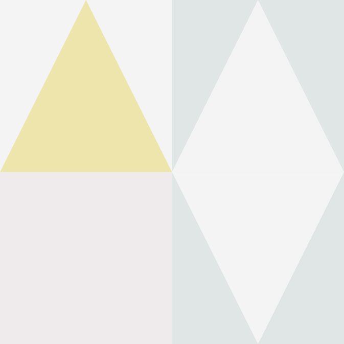 Papel de Parede Geométrico Triângulos BDBABA