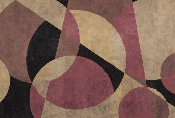 Papel de Parede Geométrico Contemporâneo F8E760
