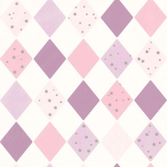 Papel de Parede Geométrico Losangos 1088DDE
