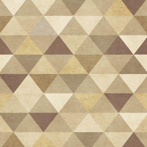 Papel de Parede Geométrico Triângulos 75785A
