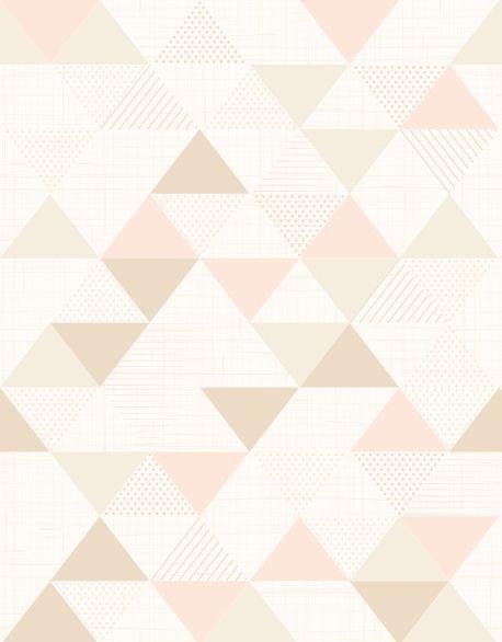 Papel de Parede Geométrico Triângulos 914BBED