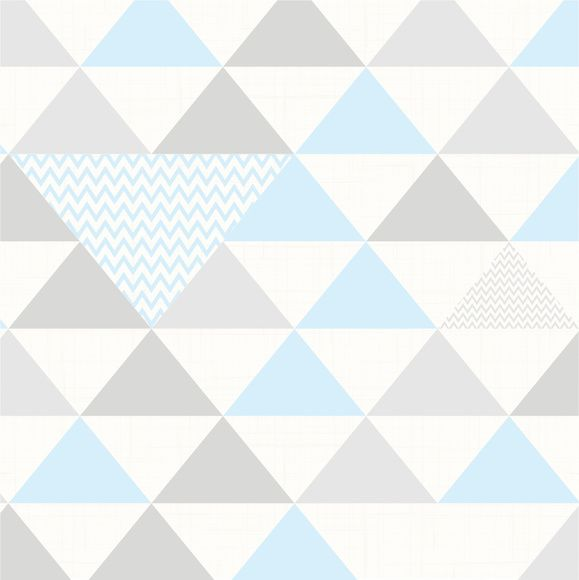 Papel de Parede Geométrico Triângulos 955B9A