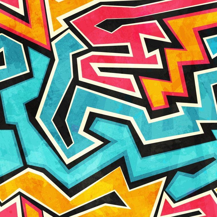 Papel de Parede Geométrico Zigue-Zague Grafite 867280