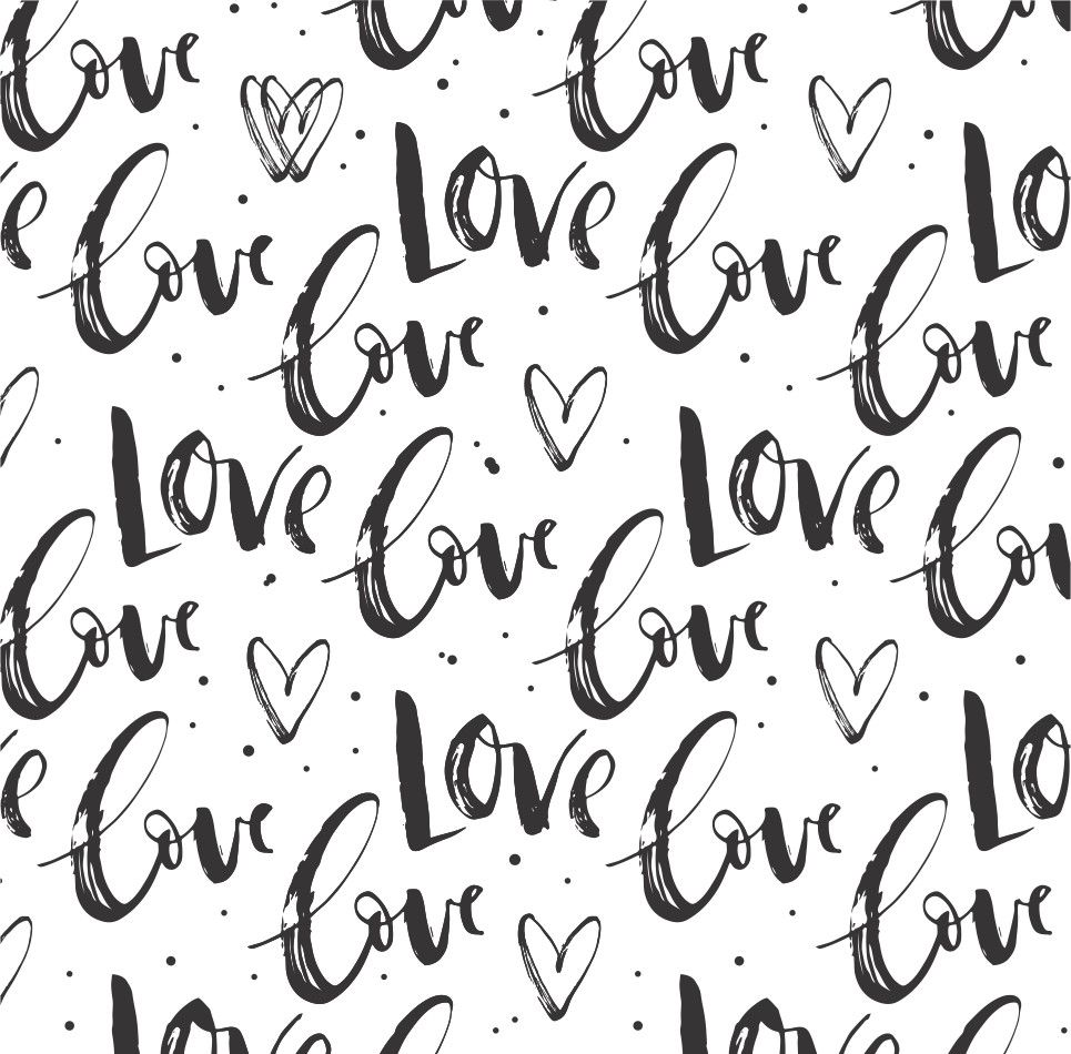 Papel de Parede Amor Love 7654E2