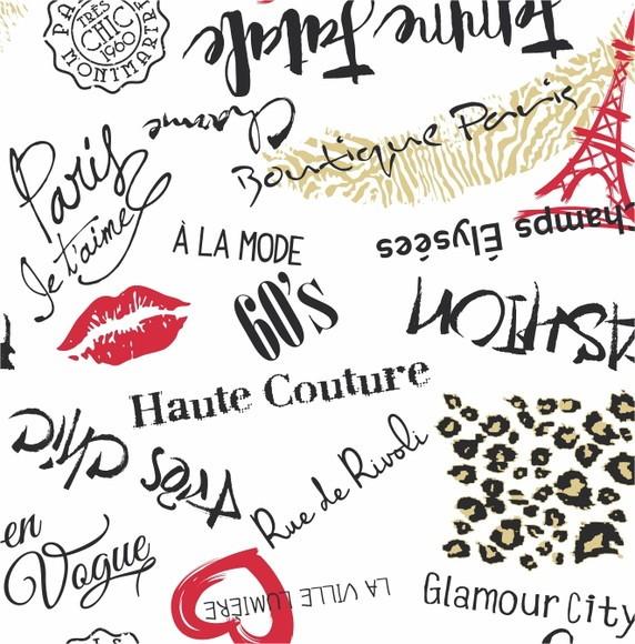 Papel de Parede Moda e Beleza Paris C3751D