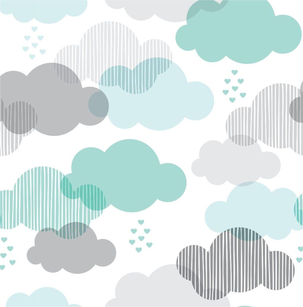 Papel de Parede Nuvens 66259C