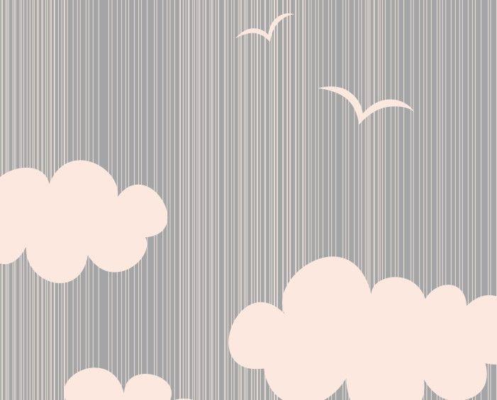 Papel de Parede Nuvens 791B8F